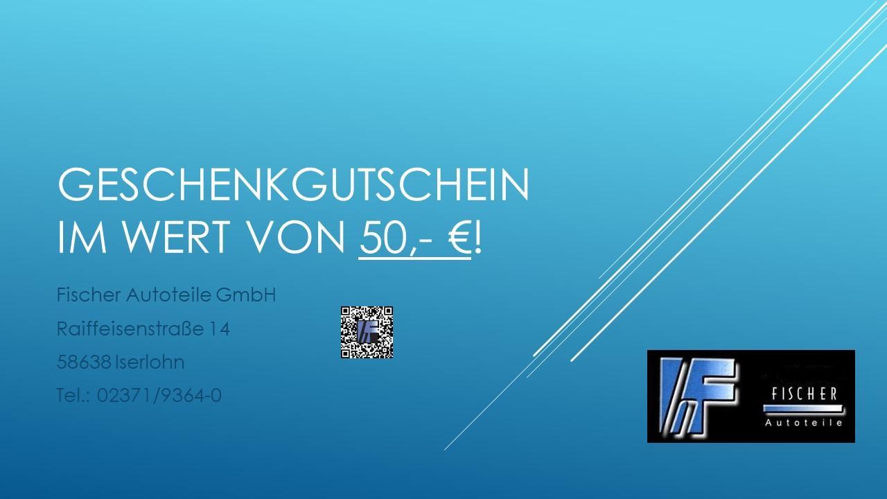 Geschenkgutschein 50.- €