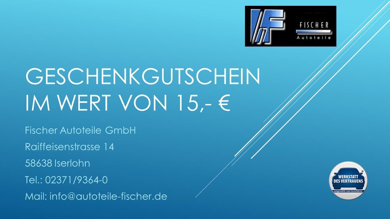 Geschenkgutschein 15,- €
