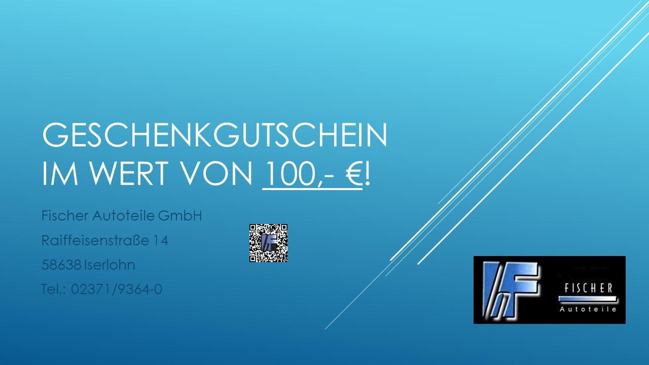 Geschenkgutschein 100.- €